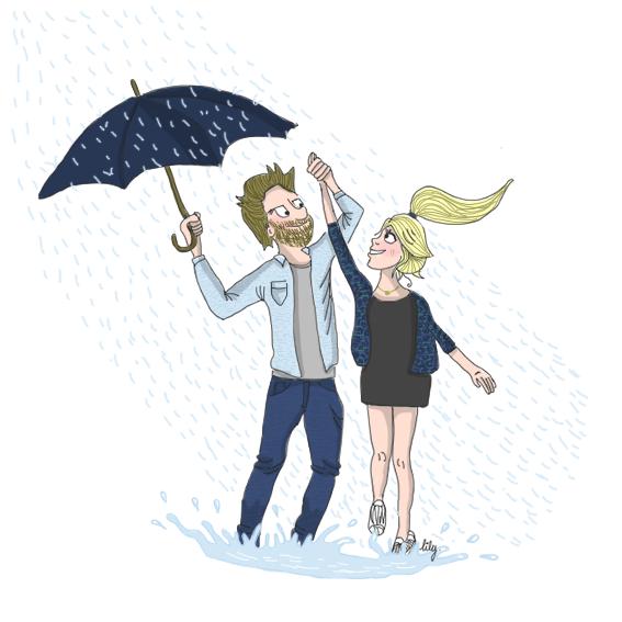 Et si on allait danser sous la pluie?