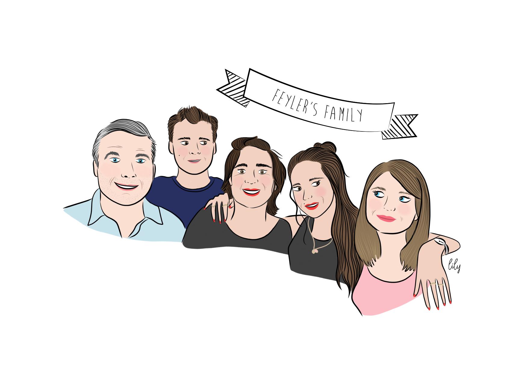 Feyler's family